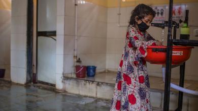 """صورة اليونيسف: """"3"""" مليار إنسان يفتقرون إلى مرافق غسل اليدين"""