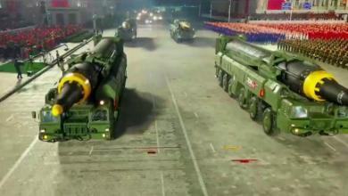 صورة كوريا الشمالية تكشف عن صاروخ باليستي عابر للقارات