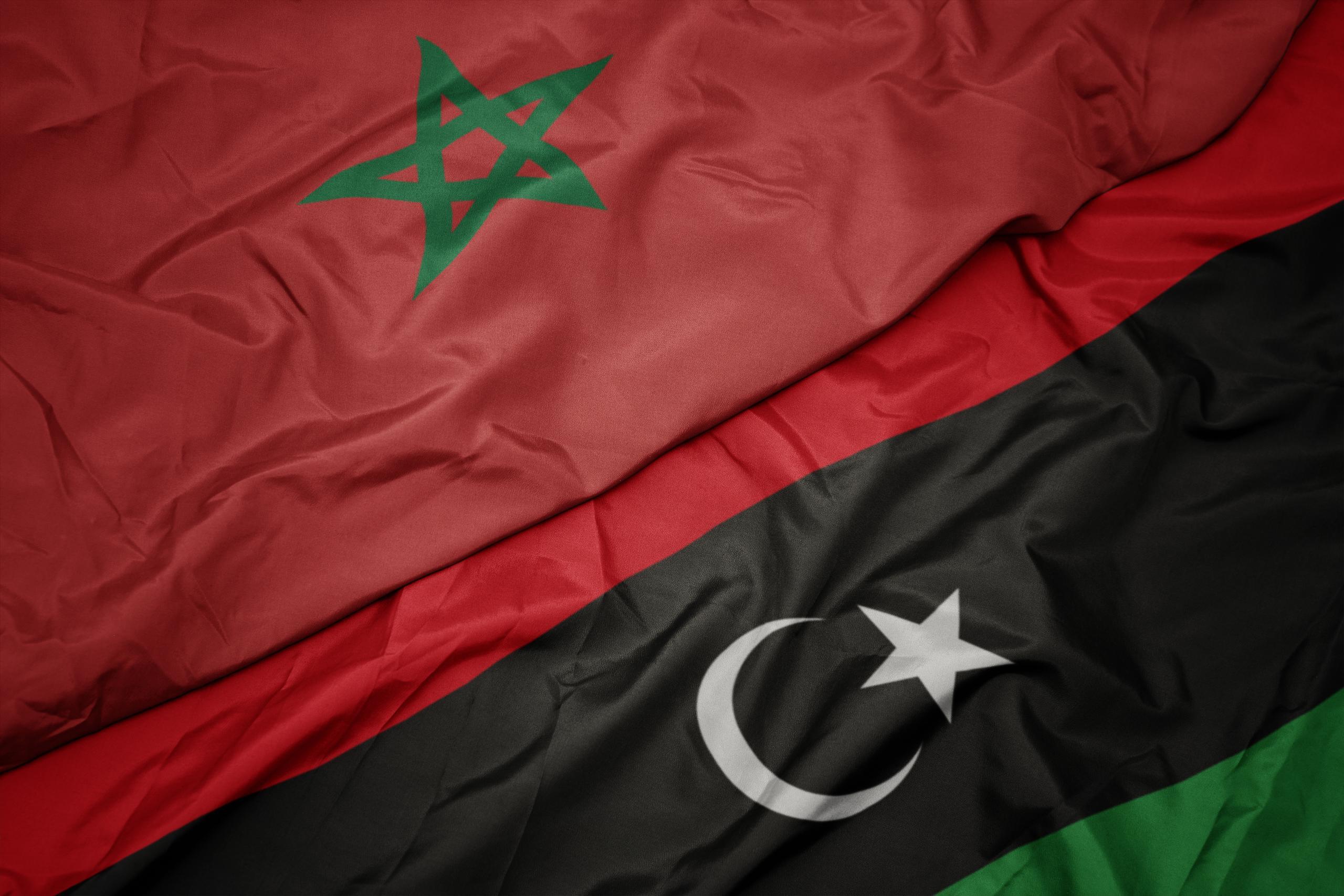 المغرب-ليبيا