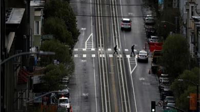 """حظر التجول في """"سان فرانسيسكو"""""""