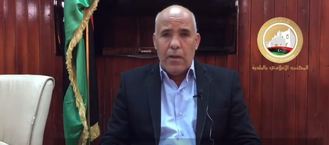 عضو المجلس البلدي غدامس والناطق الرسمي بالبلدية أحمد عثمان