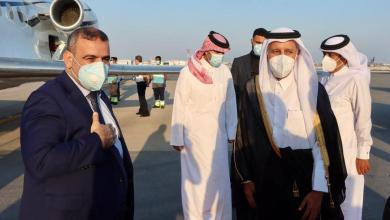 """صورة """"المشري"""" في الدوحة بدعوة من مجلس الشورى القطري"""