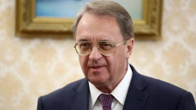 """نائب وزير الخارجية الروسي ميخائيل بوغدانوف-""""أرشيفية"""""""