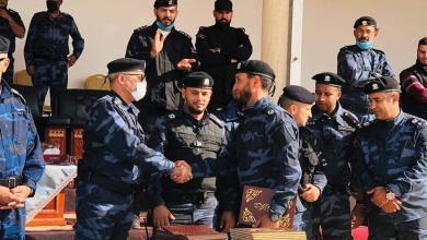 حفل اختتام دورة حماية الشخصيات في طرابلس