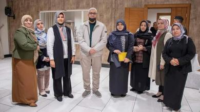 وزير الداخلية بحكومة الوفاق يتلقي بناشطات ونشطاء المجتمع المدني في مدينة مصراتة
