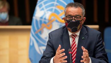 مدير عام منظمة الصحة العالمية تيدروس أدهانوم غيبريسوس