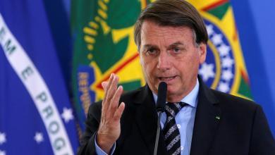 """رئيس البرازيل """"جايير بولسونارو"""""""