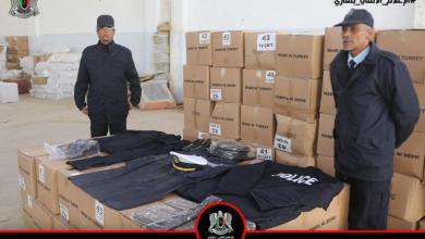 قسم المخازن بمديرية أمن بنغازي