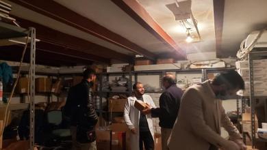 فريق مركز الرقابة على الأغذية والأدوية يتفقد مستشفى شارع الزاوية في طرابلس
